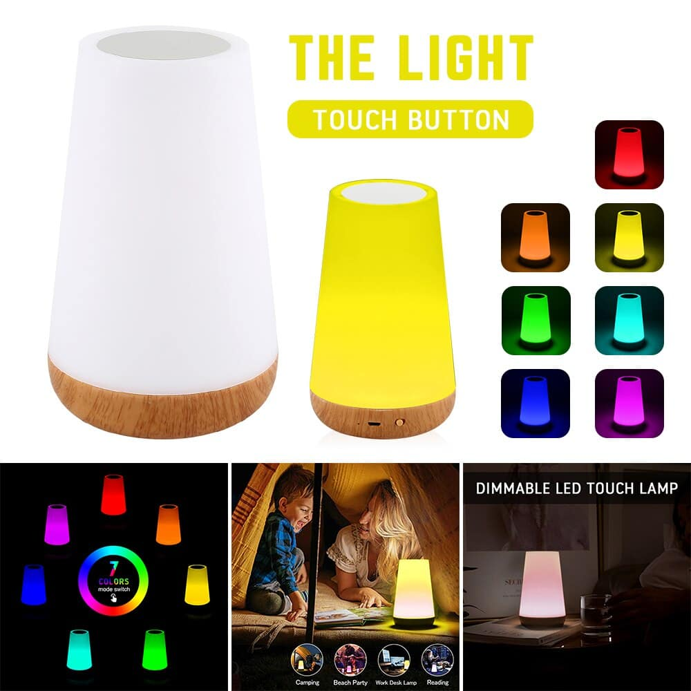 Rechargeable Smart LED Touch Control Night Lights