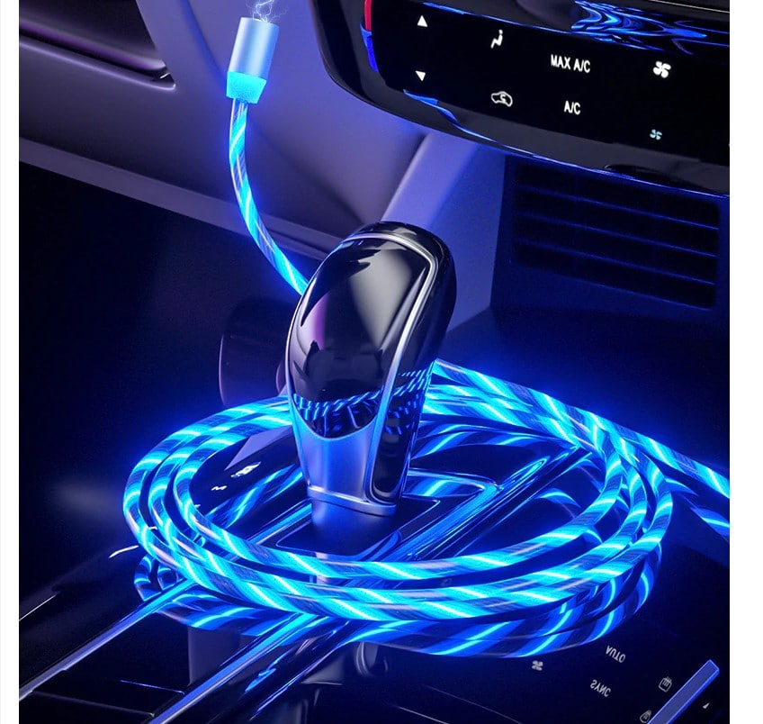 LED Magnetic Charging Cable