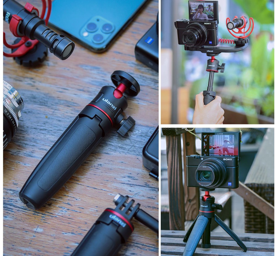 2 in 1 Adjustable Bluetooth Tripod and Selfie Stick