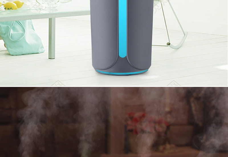 USB Air Humidifier with Colorful Backlight