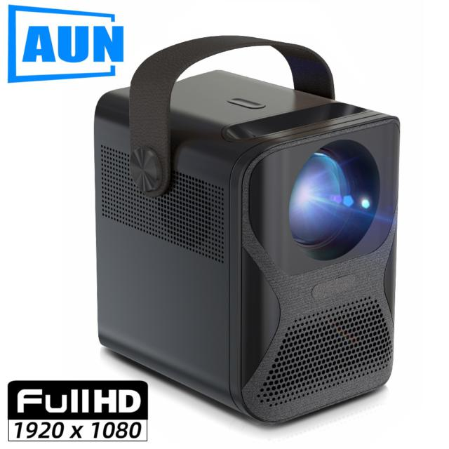 Full HD Projector 1920x1080P Android WIFI MINI Projector for Home Theater Phone LED Video Beamer 4k via HDMI 7800mAH
