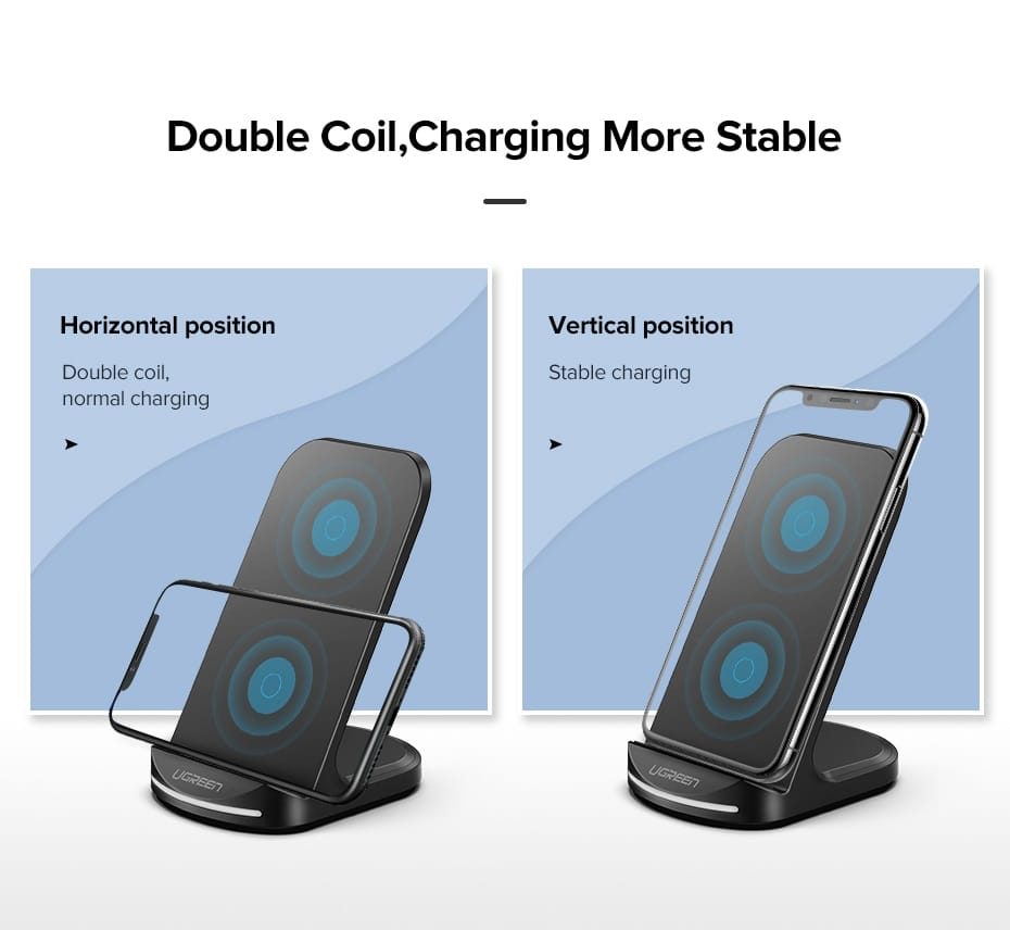 Stylish Universal Wireless Quick Charger for Phones