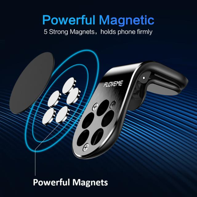 Car Air Vent Mounted Magnetic Phone Holder