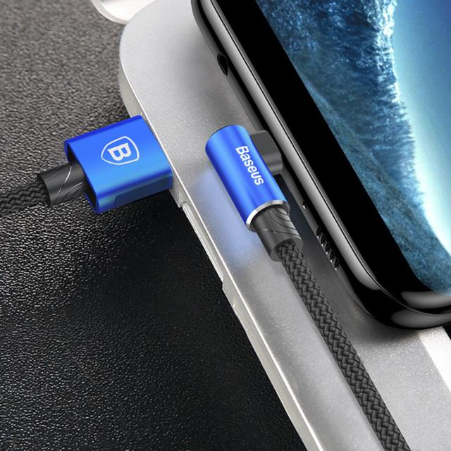 Elbow Design Reversible Micro USB Cable Charger
