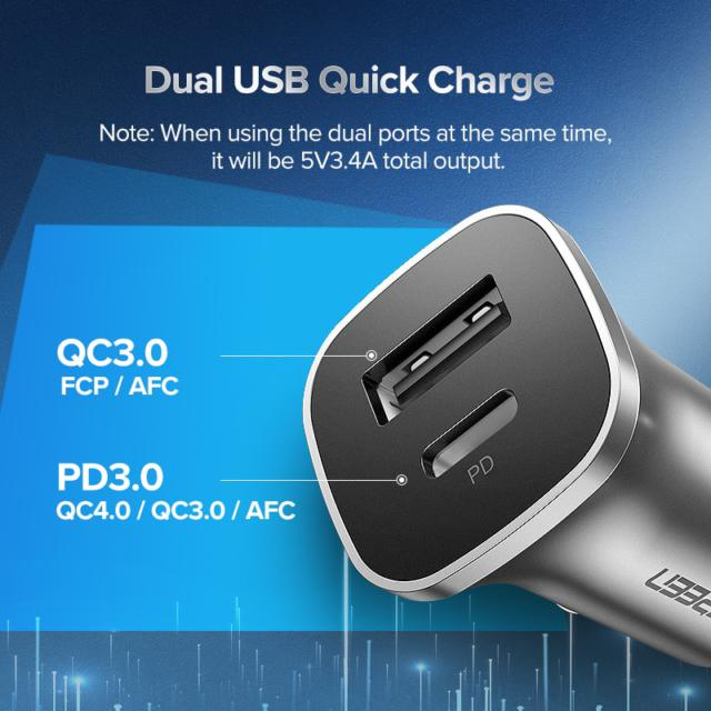 4.0 USB Car Quick Charger