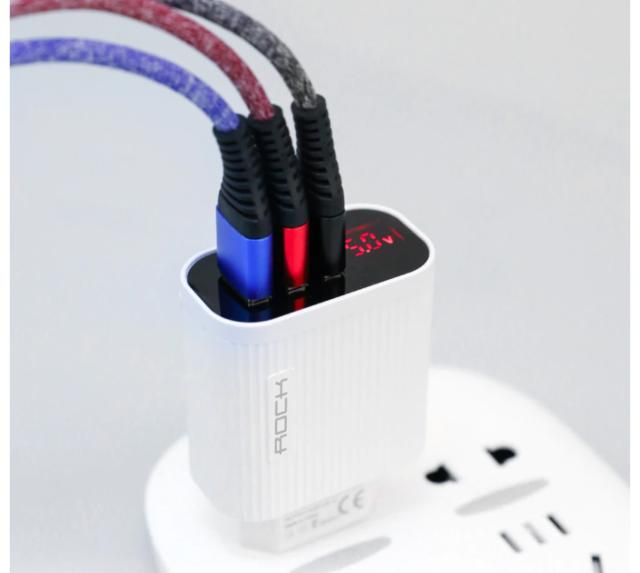 3 Port USB Phone Charger