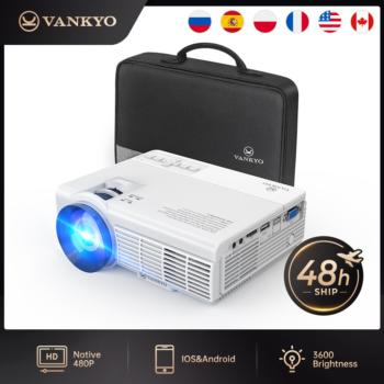 """VANKYO Leisure C3MQ Mini Projector Supported 1920*1080P 170"""" Portable Projector For Home With 40000 Hrs LED Lamp Life TV Stick"""